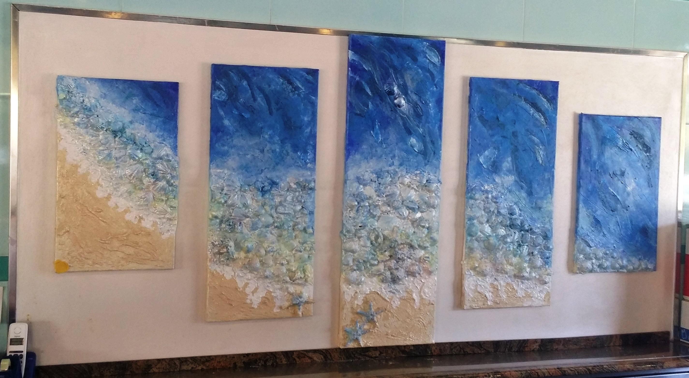 Il mare oriana papais in original passion for Materico significato